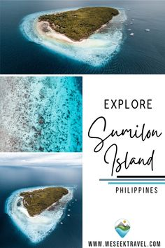 Sumilon Island is a small sandbar island located just a short boat ride around from Oslob. Sumilon Island is an epic spot for spending the day relaxing, exploring and swimming in some of the clearest water in Cebu. #philippines #adventure #islandlife