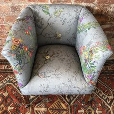 """1,226 Likes, 15 Comments - Timorous Beasties Official (@timorous_beasties) on Instagram: """"New furniture this week. Random Ruskin fabric, only used on our upholstered pieces. #design…"""""""