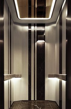 Car Interior Design, Interior Styling, Elevator Lobby Design, Garage Lift, Stair Lift, Lift Design, Lobby Reception, Lifted Cars, Cabin Interiors