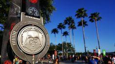 FLORIDA - Disney The Dark Side Half Marathon 2016 medal - photo provided by Halfmarathonsearch.com Half Marathon Calendar USA fan Matt S.