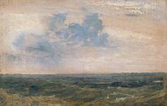 Joseph Mallord William Turner 'Study of Sea and Sky, Isle of Wight', 1827