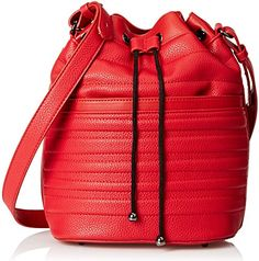 gx by Gwen Stefani Jadyn Bucket Shoulder Bag, Red, One Size $29.00