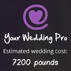My Wedding Will Roughly Cost 7200 Pounds How Much Yours Http