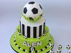 """Explore our web site for additional information on """"birthday desserts for him"""". It is an outstanding spot to learn more. Football Birthday Cake, Birthday Desserts, Soccer Cake, Soccer Cupcakes, Cake Decorating With Fondant, Sport Cakes, Horse Cake, Cake Pictures, Cakes For Boys"""