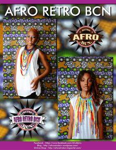 Handmade Neckpieces. Available at Afro Retro.