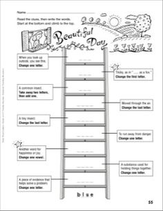 Printables Word Ladder Worksheets around the clock word ladder grades 1 2 beautiful day 4 6 more