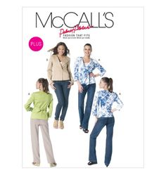 McCall's 6329, Misses'/Women's Lined Jackets