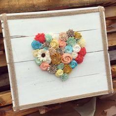 An elegant way to showcase the love in your home. It's a beautiful stand alone piece or a wonderful addition to a collage wall. Freshen up your decor for summ