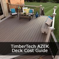 Our TimberTech AZEK Deck Cost guide provides a thorough guide to the Prices & Costs for TimberTech AZEK decking ranges and designs.