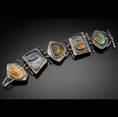 Link Bracelet by Elaine Rader.