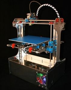 Lucastar, a 3D designer in UK, ordered a Buildabot 3D printer kit and documented his building and testing experiences on his blog. UK based company York3Dprinters offers the Buildabot 3D printers in two versions.