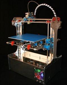 3ders.org - Buildabot 3D printer test print | 3D Printing news