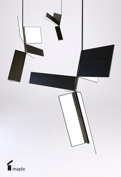 suspended lamp on Behance