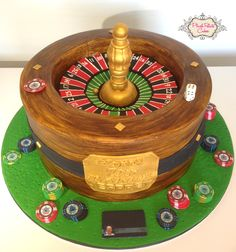 Roulette cake - It really spins!