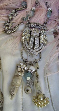 Don't I have a rhinestone buckle around here somewhere? (Chatelaine by Debby Anderson)