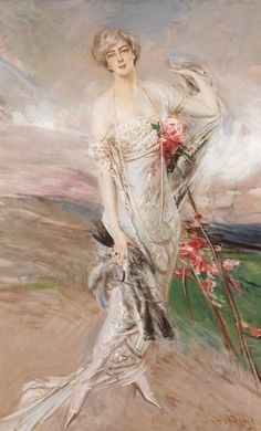 "Giovanni Boldini (1842-1931) ""Ritratto di Mrs.Peter Cooper Hewitt"" Providence - Museum of Art - Rhode Island School of Design"