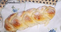 Brioche braid Sweet bread – Famous Last Words Pozole, Sweets Cake, Cookie Desserts, Mexican Food Recipes, Sweet Recipes, Fruit Buffet, Challah Bread Recipes, Mexican Bread, Sweet Dough