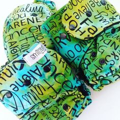 These nappies were made in tribute to all those fighting cancer. #cancersucks