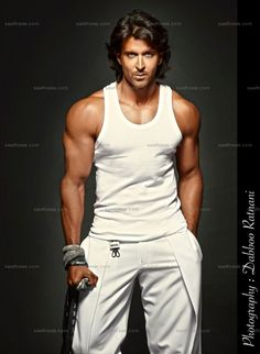 Hrithik Roshan. The white works on him.