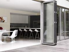 Doors to open up to patio