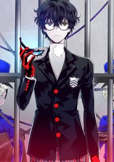 It's a mix between Joker, Inmate and Akira :)