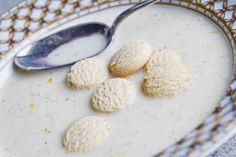 (komælksfri) Koldskål med kammerjunker -dessert. - Desserter - MadFar's opskrifter