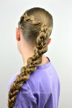 Incredible 1000 Images About Three Strand Braids On Pinterest Princess Hairstyles For Women Draintrainus