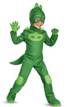 PJ Masks Gekko Deluxe Child Costume from Buycostumes.com