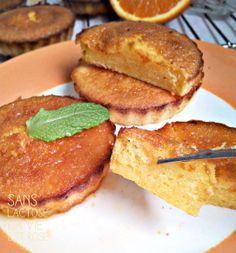 Sans lactose, la vie est rose Gâteau à l'orange