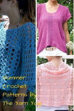 3 Crochet Patterns Sale by TheYarnYogi