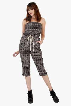 a511ebc2ef2c Safari Land Jumpsuit Bohemian Chic Fashion
