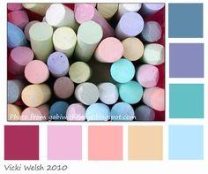 Color Palette - Chalk - Field Trips in Fiber - Adventures in ...
