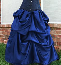 Azac Gothic Steampunk Victorian Bustle Formal Skirt in Many Colors Custom | eBay