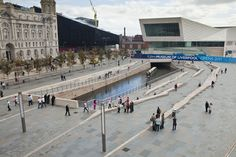 Pier Head Public Realm | Liverpool UK | AECOM