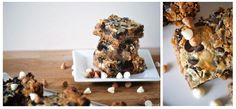 Oh there goes my diet *baked bars with chocolate coconut butterscotch..*