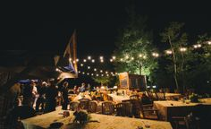 Outdoor Fall Night Tahoe Wedding #tahoe #wedding #eventmasters #reception