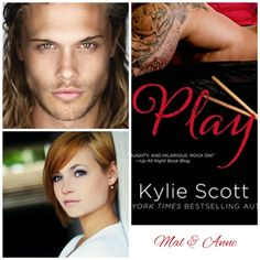 Mal & Anne ♡ Play by Kylie Scott Kylie Scott, Collage Book, Night Book, Book Characters, Great Books, Book Series, Teaser, Marathon, Bookmarks