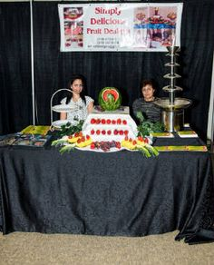 Your fruit tables are an absolute work of art. Brides are sure to love one of your tables at their wedding. Fruit Tables, Fruit Designs, Delicious Fruit, Brides, First Love, Workshop, Table Decorations, Artwork, Wedding