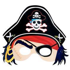 Maschera pirata.