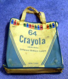 1981 Crayola Crayon Bookbag