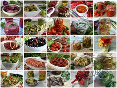 Conserve calabresi - ricette di melanzane, zucchine, olive, pomodori ecc..