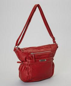 Take a look at this Red Dakota Crossbody Bag by Franco Sarto on today! Cross Body, Cute Bags, Franco Sarto, Crossbody Bags, Take That, Shoulder Bag, My Style, Red, Fashion