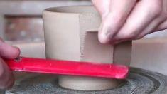 Cold Porcelain Mug - Porcelain Tile Floor Cream - Porcelain Light - Chinese Porcelain Illustration - Porcelain Light Socket - Peinture Sur Porcelain Vide Poche Pottery Cafe, Pottery Mugs, Pottery Studio, Ceramic Pottery, Ceramic Techniques, Pottery Techniques, Pottery Tools, Pottery Classes, Ceramic Tools
