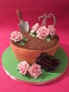 Surprise 70th birthday cake by Roberta