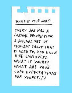 How To Be Your Own Boss – Adam J. Kurtz for Design*Sponge