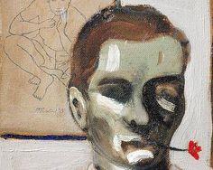 A self-portrait by Pier Paolo Pasolini