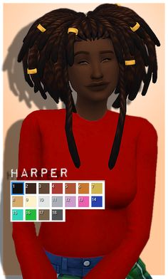  HARPER • Clips are found in Bracelets [#ts4_adult_hair] [#ts4_bacc_orc]