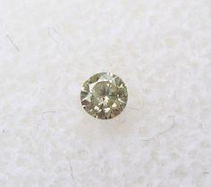 0.07 carats Round Champagne DIAMOND 2.5mm Loose Genuine Diamond