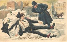 старинные открытки нового года: 22 тыс изображений найдено в Яндекс.Картинках