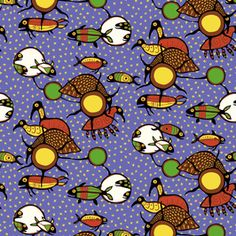 #NativeAmerican Inspired #Astrology #Birds #Fishes #Sun and #Moon Main #pattern by #NikitaCoulombe now available on #PatternBank